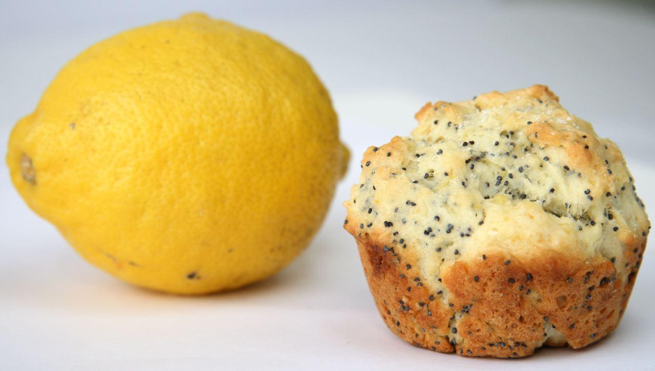 Burst of Spring: Lemon Poppy Seed Muffins | JBean Cuisine