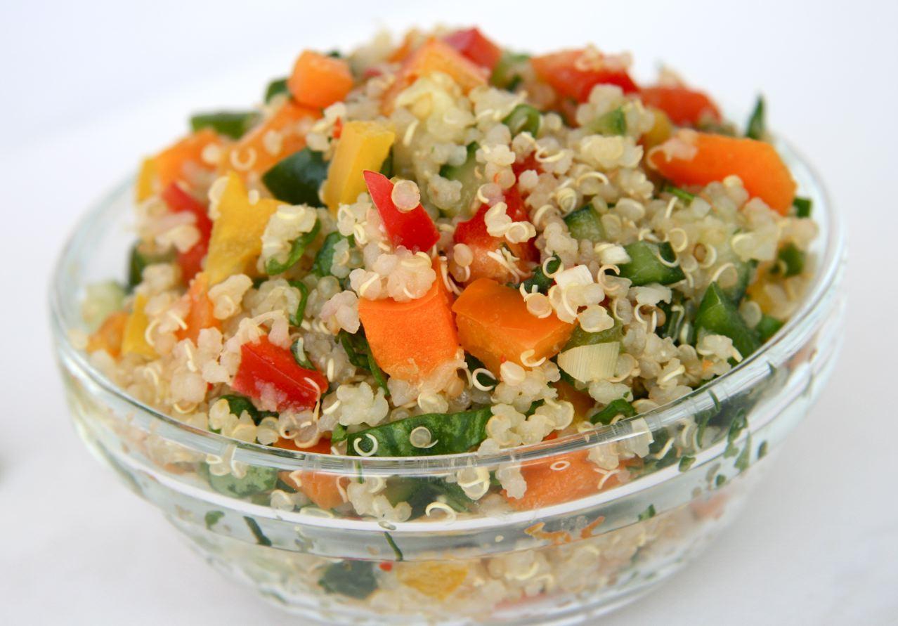 Thai quinoa salad jbean cuisine for Cuisine quinoa